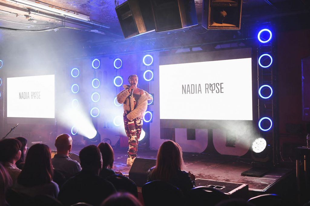 Nadia Rose presented by Winter French